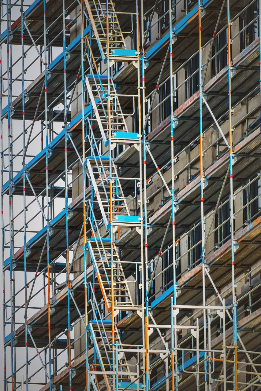 Scaffolding Site Scaffold Building