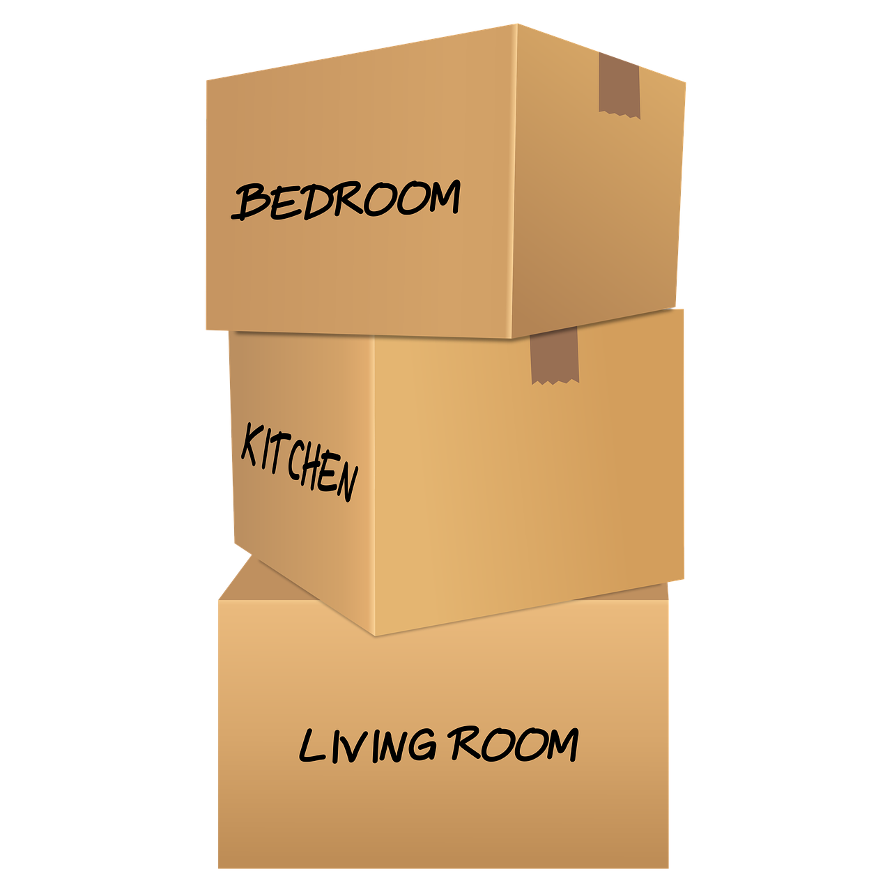 Moving Boxes Carton Boxes  - gracheli / Pixabay